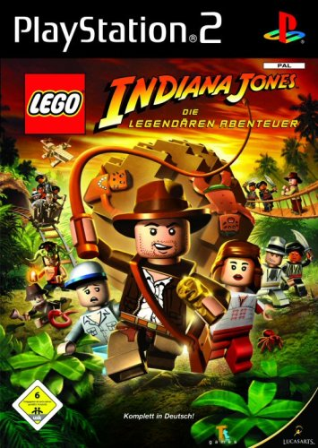 LucasArts LEGO Indiana Jones - Juego (PS2, DEU)