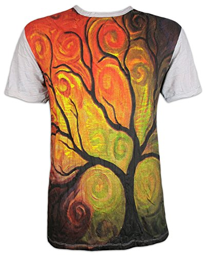 Sure Clothing Camiseta Hombre El Arbol de la Vida Talla M L XL Magia Buda Yoga Arte...
