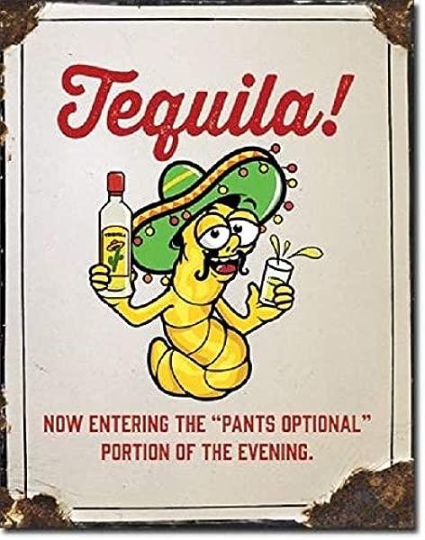 龙舌兰酒裤子可选酒 Jose 搞笑幽默墙酒吧装饰金属锡标志新锡标志 7 8X11 8 英寸