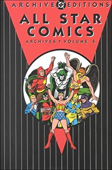 All Star Comics Archives, Vol. 5 - Book  of the DC Archive Editions