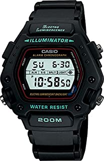 Casio Men's Digital Resin Strap Watch
