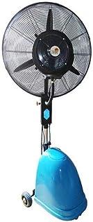 WSJ - Ventilador de pie con pulverizador, ventilador industrial eléctrico, ventilador de suelo, ventilador de aire acondicionado refrigerado por agua, 26 pulgadas, Blue Lifting Mechanical versión