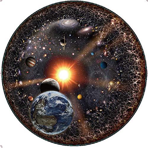YYLI 1000 Piezas Puzzle, Universo Planeta Theme Puzzle, Puzzle con Bolsa De Almacenamiento, Disfrute El Tiempo De Recreación con Familiares Y Amigos 70 * 50CM