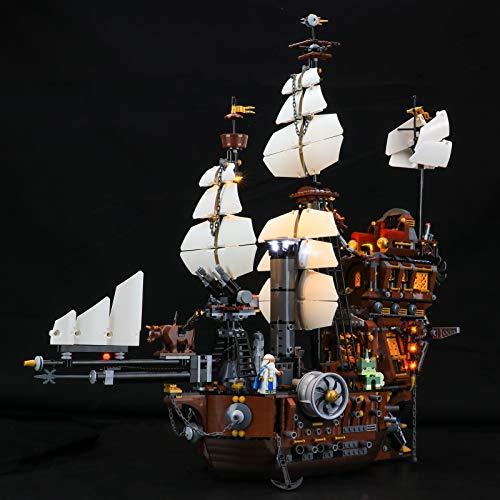 BRIKSMAX Kit de iluminación LED Lego Movie Mucca di Mare di Barbabietola - Compatible con Lego 70810 Building Blocks Model- No incluir el Conjunto de Lego