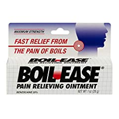 For the temporary relief of pain and discomfort caused by boils Boil Ease