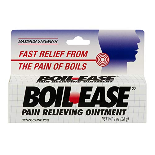 Boil-Ease Ointment Maximum Strength 1 oz (Pack of 4)