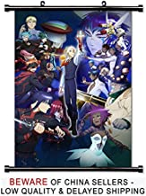 D Gray Man Hallow Anime Fabric Wall Scroll Poster (32x45) Inches