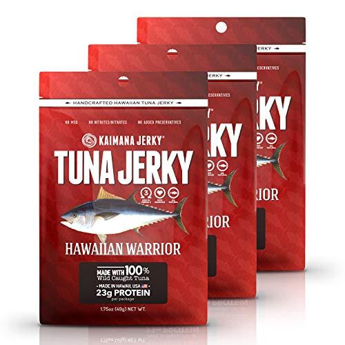 Kaimana Jerky - Hawaiian Warrior Ahi Tuna Jerky 3 Pack -...