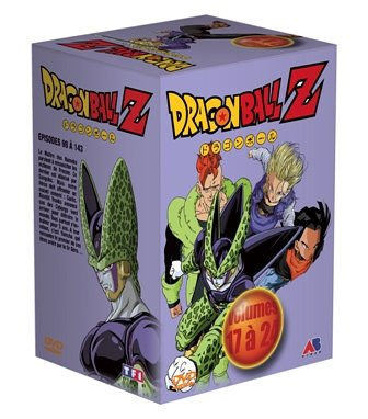 Coffret Dragon Ball Z 8 DVD : Vol. 17 à 24 saga de cell