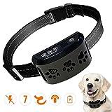 HVRSTVILL Advanced Bark Collar, Anti Bark Collar for Small Medium Large Dogs, Stop