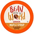 Bean Around The World Maple Syrup Flavored Coffee Compatible With 2.0 Keurig K Cup Brewers, 40 Count