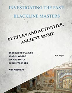 Investigating The Past: BlackLine Masters: Puzzles & Activities: Ancient Rome