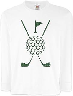 Urban Backwoods Golf Tools Camisetas de Manga Larga T-Shirt para Niños Niñas