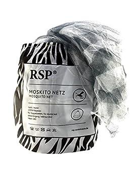 RSP ® Unisexe - Adulte Modèle Zebra Moustiquaire Noir/Blanc Taille Unique