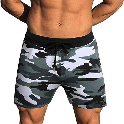 COOFANDY Men's Bodybuilding Gym Running Workout Shorts