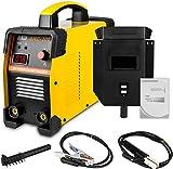 AUTOOL Soldadora de alambre profesional, soldadora IGBT portátil, electrodo, 220 V, 30 – 160 A, soldadora Inverter Arc con visualización de corriente