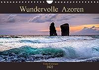 Wundervolle Azoren (Wandkalender 2022 DIN A4 quer): Landschaftfotos, die die Vilefalt der Azoreninseln zeigen (Monatskalender, 14 Seiten )