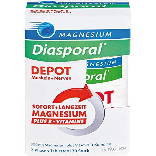 Magnesium-Diasporal Depot 2-Phasen-Tabletten, 30 St. Tabletten