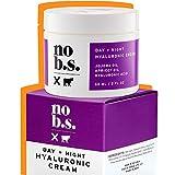 No B.S. Hyaluronic Acid Cream For Face - Day + Night with Hyaluronic Acid, Jojoba Oil & Apricot Oil. Potent Formulas. Clean Skincare. Vegan.