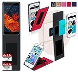 reboon Hülle für Meizu Pro 6S Tasche Cover Case Bumper | Rot | Testsieger