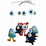 Crib Musical Mobile Baby Hanging Toy 0-12 Months Monster 1
