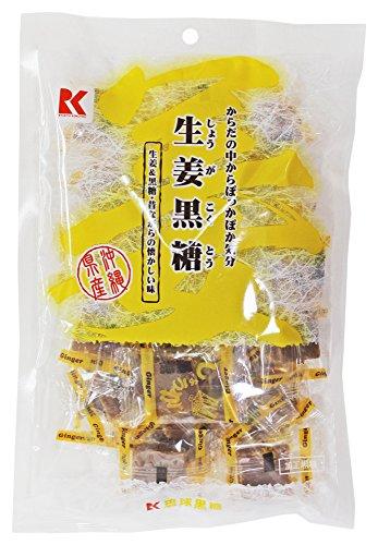 琉球黒糖『生姜黒糖』