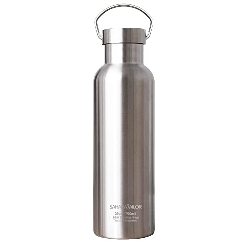 a5a751cd29 Insulated Water Bottle, Sahara Sailor Leak-Proof No Sweating Metal Water  Bottle, BPA