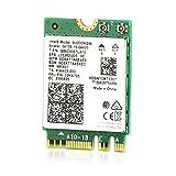 Ubit Carte Réseau AX WiFi 6 Dual Band 3000 Mbps AX200NGW pour Ordinateur Portable M.2 avec Bluetooth 5.1 | MU-MIMO | OFDMA |...