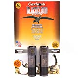 Carlson's Choke Tube Remington Black Cloud Waterfowl Choke Tubes 12 Gauge, MR & LR, Black