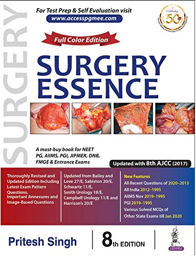 Surgery Essence, 8th Edition - Original PDF