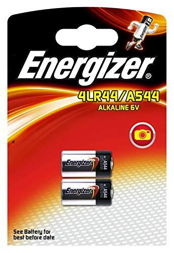 Schneiden, Edge Twin Pack (2x Energizer 4LR44 4G13 L1325 A544 Alkaline Batterien, 6V, Cleva ® alute ® Edition
