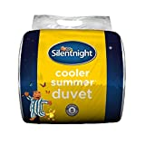 Silentnight Cooler Summer 4.5 Tog Duvet, White, Double
