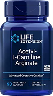 Life Extension Acetyl-L-Carnitine Arginate 90 Vegetarian Capsules