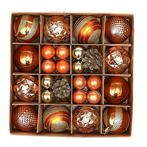 decorazioni natalizie da appendere RIABXZ Set di 42 ornamenti per albero di Natale