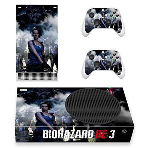Xbox Resident Evil 3 BIOHAZARD RE:3 Skin, Decal, Vinyl, Sticker, Faceplate - Console and 2 Controllers - Protective Cover New SERIES S