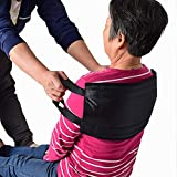 NITONAMI 介助ベルト 介護用 移乗ベルト 患者/高齢者移動サポート ハンドル付く移乗シート 一人用 腰部負担減る 起き上がり/足を上げる補助