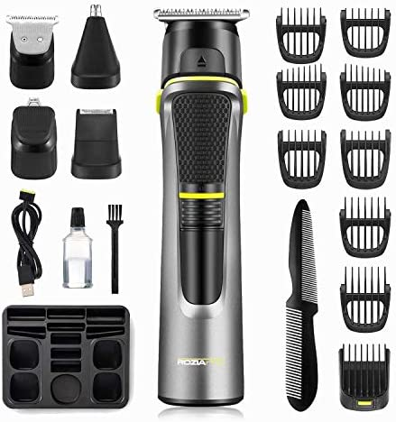 Roziahome Beard Trimmer 14 in 1 Grooming Kit Professional Hair Clippers for Men Magnetic Suction product image
