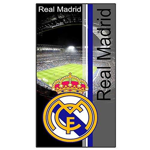 REAL MADRID C.F Telo Mare Blanca//Grigio 160x80 cm