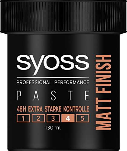Syoss Matt Finish Gel, Haltegrad 4, Extra Stark, 6er Pack (6 x 130 ml)
