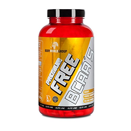 BWG Premium Free BCAA\'s, Elite Line, 400 Tabletten, 1er Pack (1 x 360 g) Dose