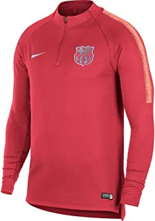 Nike 2018-2019 Barcelona Drill Training Top (Tropical Pink)