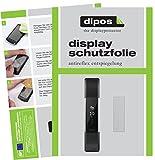 dipos I 6X Schutzfolie matt kompatibel mit Fitbit Alta HR Folie Bildschirmschutzfolie