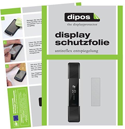 dipos I 6X Pellicola Protettiva antiriflesso Compatibile con Fitbit Alta HR Pellicola di Protezione