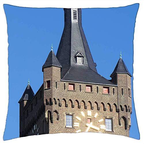 Sierkussenhoes Architectuur Toren Duitsland Zwanenburg Kleve Stick