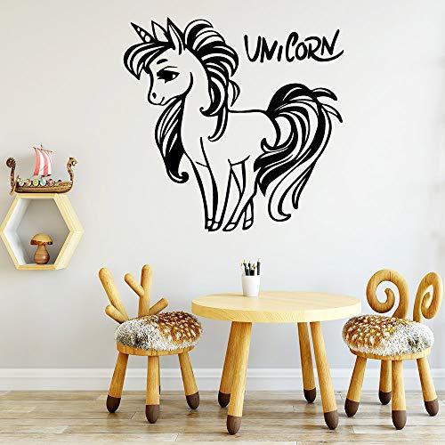HNXDP Diy Custom Name Wasserdichte Wandaufkleber Wandkunst Dekor Pvc Wandtattoos Home Party Dekor Tapete 57cmx58cm