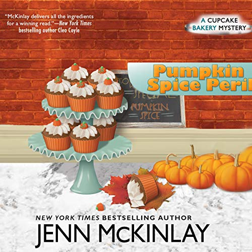 Pumpkin Spice Peril audiobook cover art