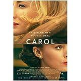 Carol Film Kate Blanchett Rooney Mara, Sarah Paulson Poster