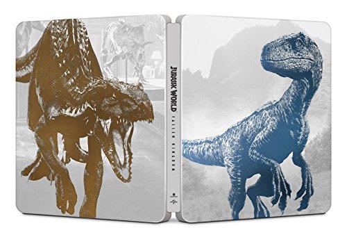 Jurassic World: Il Regno Distrutto ( Steelbook 4K Ultra HD) (2 Blu Ray)