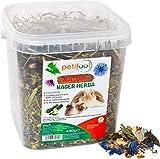 petifool Nager Herba 430g - Alleinfutter für Nager - Nagerfutter für Kaninchen und Meerschweinchen - ohne künstliche Zusätze - 100% Natur - artgerechtes Futter