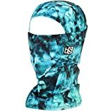 BLACKSTRAP Hood Balaclava Face Mask, Dual Layer Cold Weather Headwear for Men and Women, Tie Dye Teal